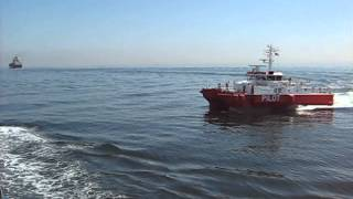 COLLISION WITH PILOT BOAT