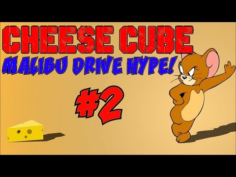 CHEESE CUBE ZOMBIES: Malibu Drive HYPE! [2] ★ (CoD Custom Zombies Maps/Mods)