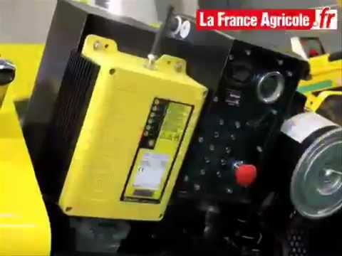 Simorra sa a la vanguardia con el robogreen de energreen for Eclairage exterieur avec commande a distance