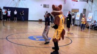 Tulsa Shock Assembly Program at Lewis and Clark Middle School