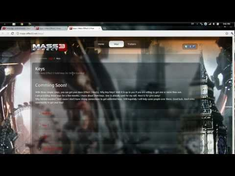 Free Mass Effect 3 - Online Keys