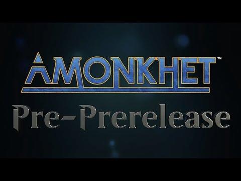 Magic: The Gathering — Amonkhet Pre PreRelease