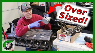 Zapętlaj Oversize Pistons Install Jeep 4.0: Rebuild Part 18   JeepSolid