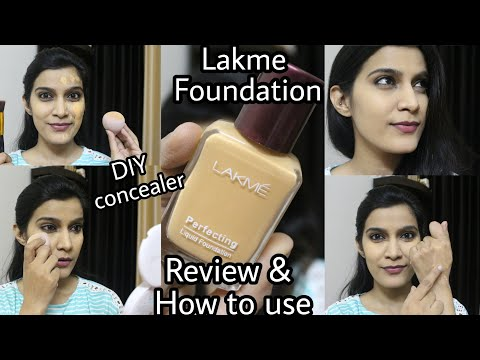 Lakme Perfecting Foundation | Review & How to use With Tips  | Affordable Foundation
