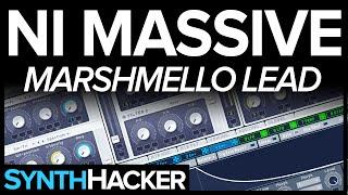 Massive Tutorial - Marshmello Style Future Bass / Trap Lead