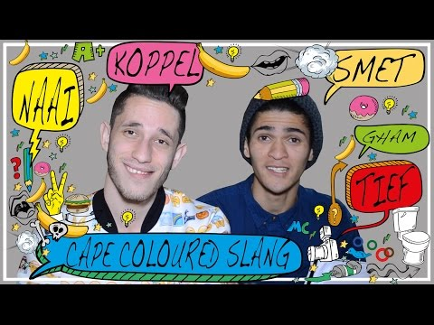 Cape Coloured Slang with Mark Fitzgibbon | Michael Cost