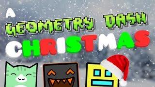 A GEOMETRY DASH CHRISTMAS | GD Animation | Juniper