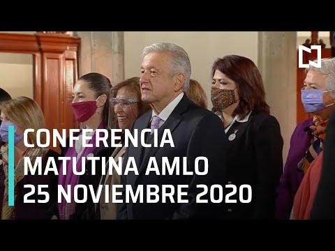 Conferencia matutina AMLO / 25 de noviembre 2020