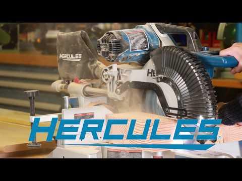 New Harbor Freight Hercules 12″ Sliding Miter Saw