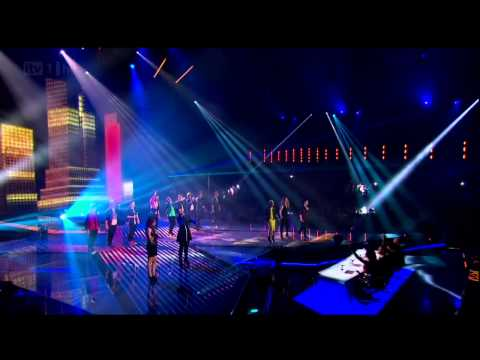 The Finalists sing a hits of the year medley - The Final - The X Factor UK 2012