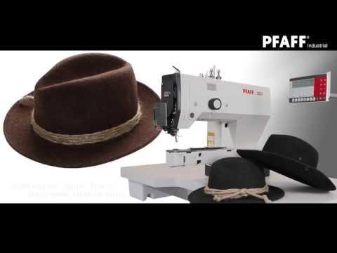 PFAFF 3307402 Tacking of hat bands HD EN