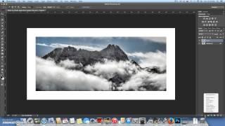 La création d'un Cadre photo dans Photoshop CC