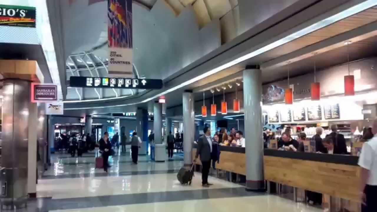 Ohare airport terminal 2 3