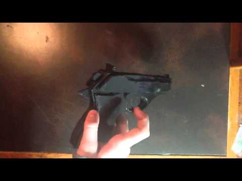 Homemade Walther PPK