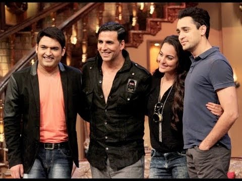 Akshay Kumar  on 'Comedy Nights with Kapil Sharma'- 6th October 2013 Travel Video