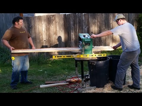 "Grizzly 12 1/2"" Planer Review"