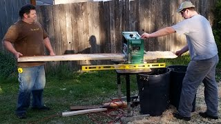 This video is not available. Grizzly 12 1/2 Planer Review