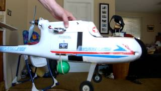 NEW Improved Parachute Drop for RC Plane with Bomb Bay!