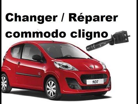 Changer Commodo Peugeot 107 Youtube