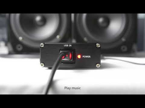 AIYIMA ES9028Q2M+SA9023 USB Decoder DAC - YouTube