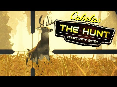 Hunting Trophy Whitetail Deer In Cabela's The Hunt: Championship Edition