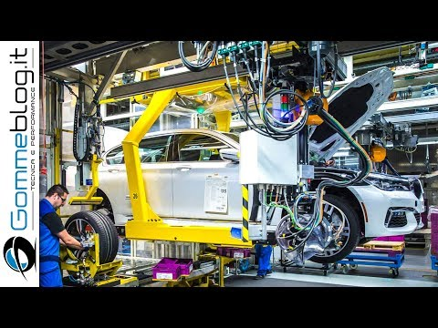 Bmw 7-Series CAR FACTORY | How It's Made Assembly Line Production 2017 -  5 Luxury Cars