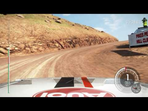 Dirt Rally Audi Quattro S1 @ Pikes Peak onboard 2016 07 24