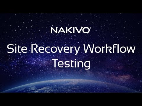 #4 Site Recovery in NAKIVO Backup & Replication – Performing Failover Workflow Testing