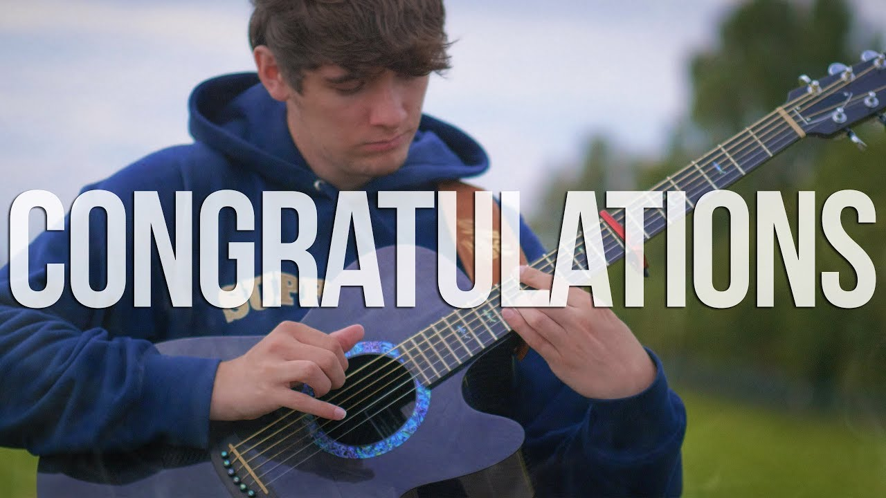Congratulations Post Malone Fingerstyle Guitar Cover Chords