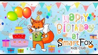 Детский клуб SmartFox: первый День рождения малышки Кристины в Москве