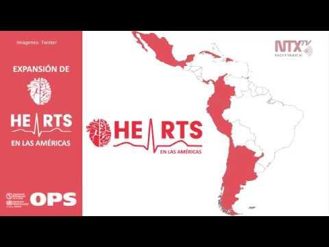 Se Adhiere México A Iniciativa Hearts De OMS