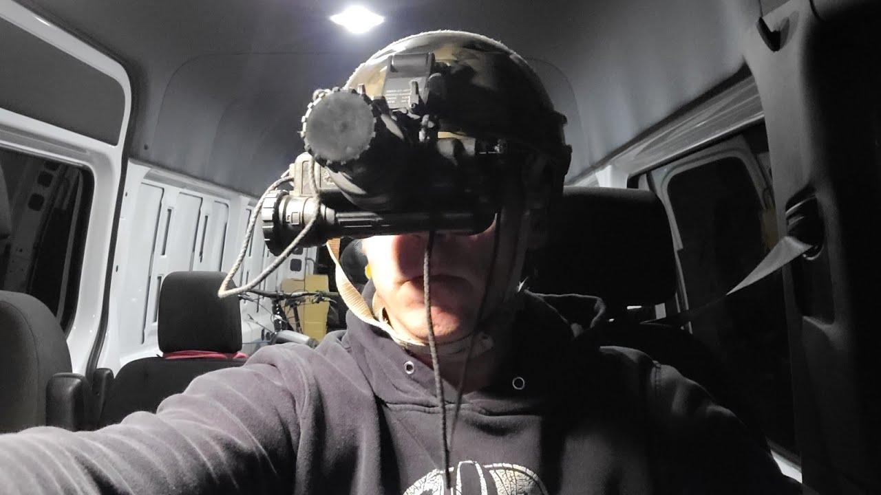 Livestream UFO Watchtower Recon,  Late-night Lee Wheelbarger