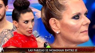 Flor Marcasoli aprovechó a nominar a la mamá de Laurita en el Aquadance