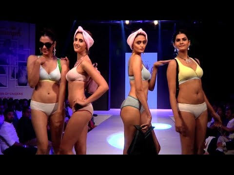 Triumph HOT Lingerie Fashion Show India 2017 With Celebs
