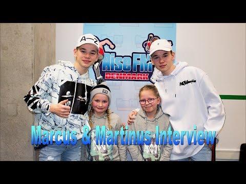 Milla & Emma interviews Marcus & Martinus - Rise FM Denmark