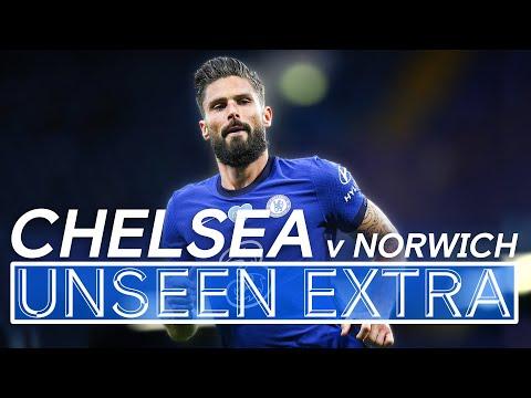 Hakim Ziyech Watches on as Giroud Scores Chelsea's Winner v Norwich!🔥 | Unseen Extra