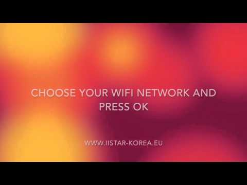 How connect the Istar with WiFi?