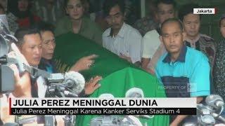 Pemakaman Julia Perez, Sejumlah Selebritas & Warga Ikuti Prosesi Pemakaman Jupe