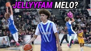 LaMelo Ball Takes Over London With 39 POINT TRIPLE DOUBLE vs GROWN MEN! Big JELLY & Self Alley Oop!