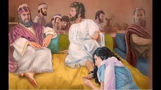 В просторной горнице Христос