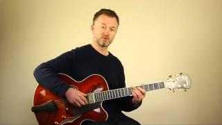 Darn that Dream Barry Galbraith guitar lesson