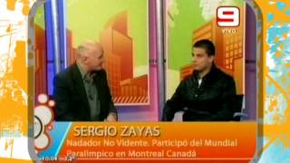 SERGIO ZAYAS Partició Del Mundial Paralímpico En Montreal Canadá TLQP 26 08 13
