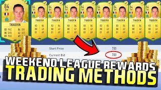 FIFA 19 WEEKEND LEAGUE REWARDS TRADING TIPS! | TRADING TO GLORY #19 | FIFA 19 ULTIMATE TEAM