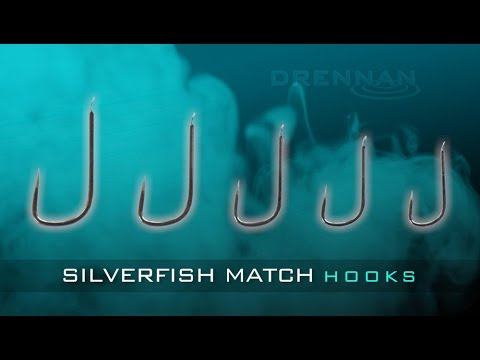 Drennan Silverfish Match Hooks With Darren Davies