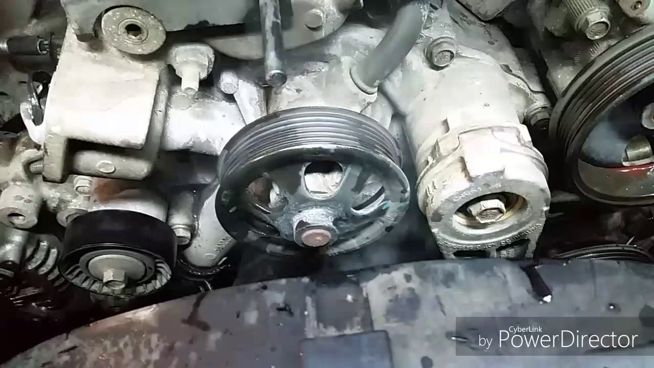 1999 dodge dakota engine diagram 2011 dodge durango 5 7 hemi water pump removal youtube #3