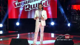 Narek Makaryan,Feeling good by Michael Bubble - The Voice Of Armenia - Blind Auditions - Season 1