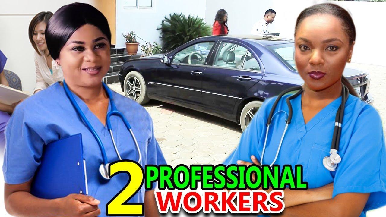 Download 2 Professional Workers COMPLETE SEASON - Chioma Chukwuka & Uju Okoli 2020 Latest Nigerian Movie