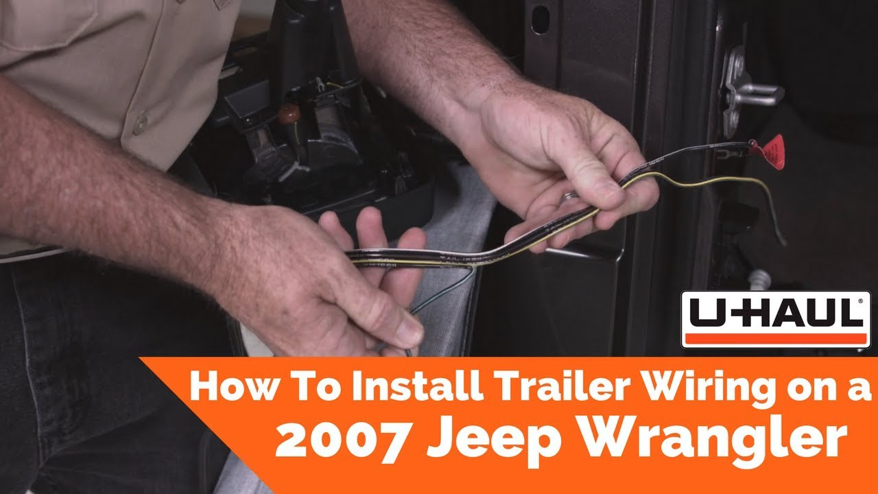 Uhaul Trailer Wiring Harness Installation Blue Taps Free Download Installing How To Install On A 2007 Jeep Wrangler Youtube At