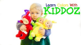 Learn Colors With The Tubbies & Skip To My Lou Nursery Rhyme Song