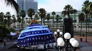 Gaslamp Quarter Trolley Station: NBC Comic-Con Activation